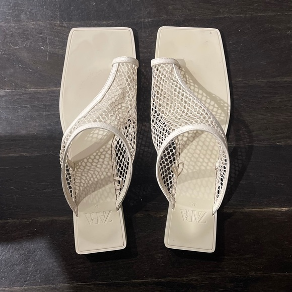 Zara Mesh Sandals